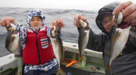 2020/3/31  アジ釣りコース!