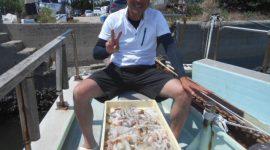2021/7/23  タコ釣りコース!