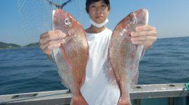 2021/9/23  ウタセ真鯛釣りコース!
