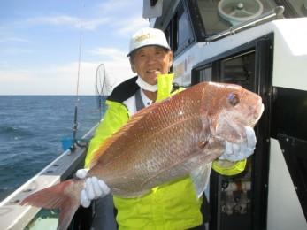 70cmの大鯛釣れましたよ~!